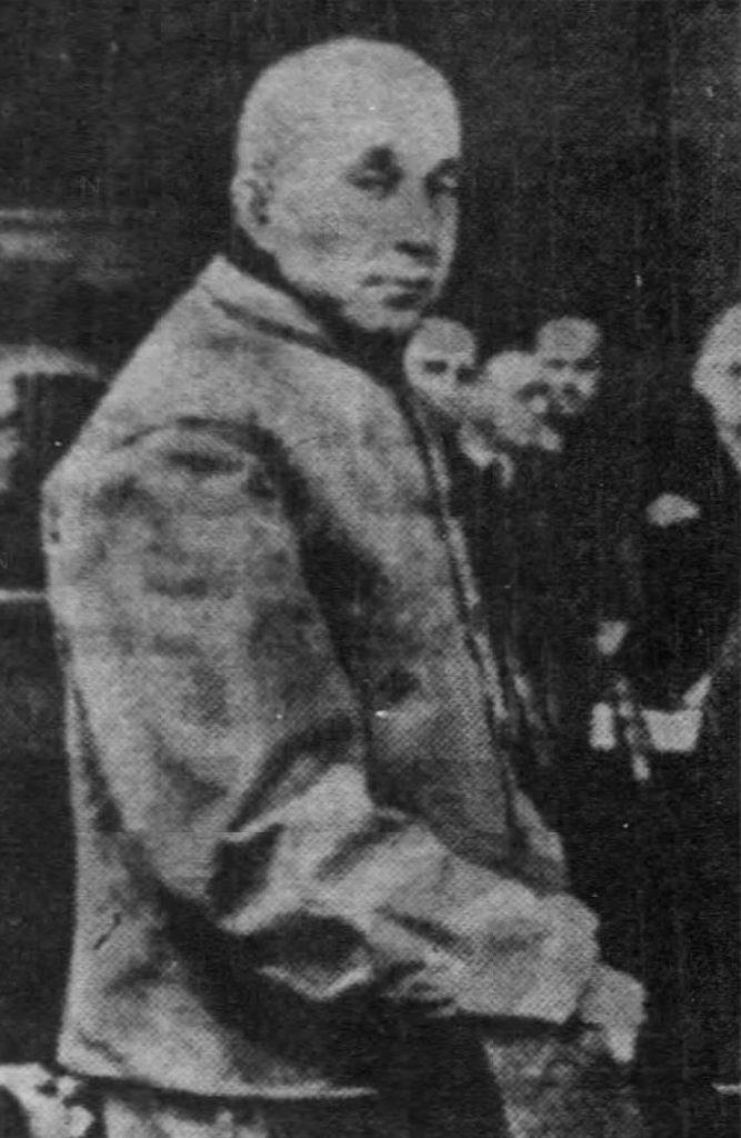 Adolf Seefeld przed egzekucją (domena publiczna).
