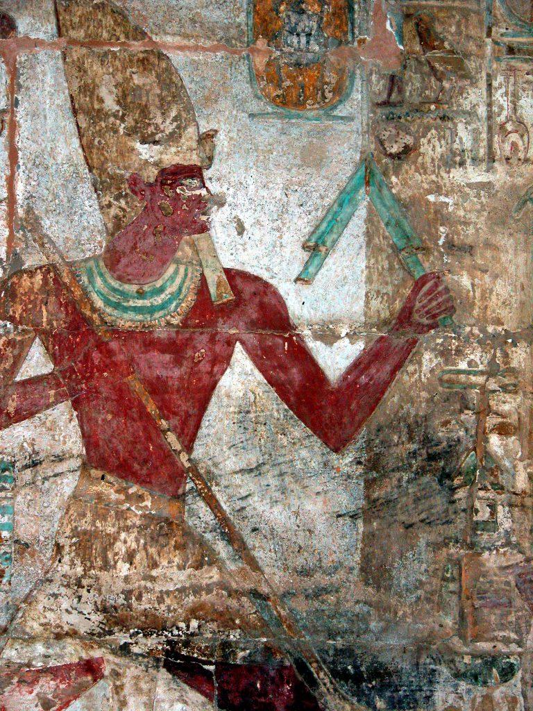 Podobizna Amenhotepa II ze świątyni w Amadzie (Dennis Jarvis/CC BY-SA 2.0).