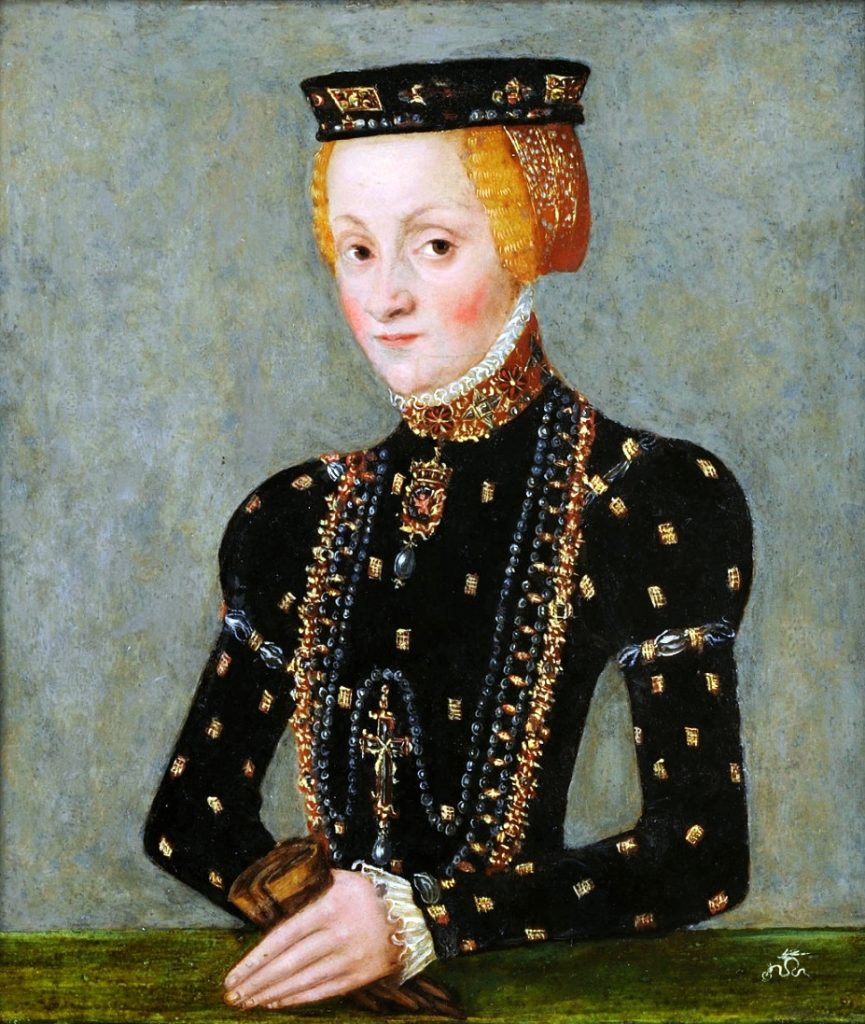 Babką Jana Kazimierza była Katarzyna Jagiellonka (Lucas Cranach Młodszy/domena publiczna).