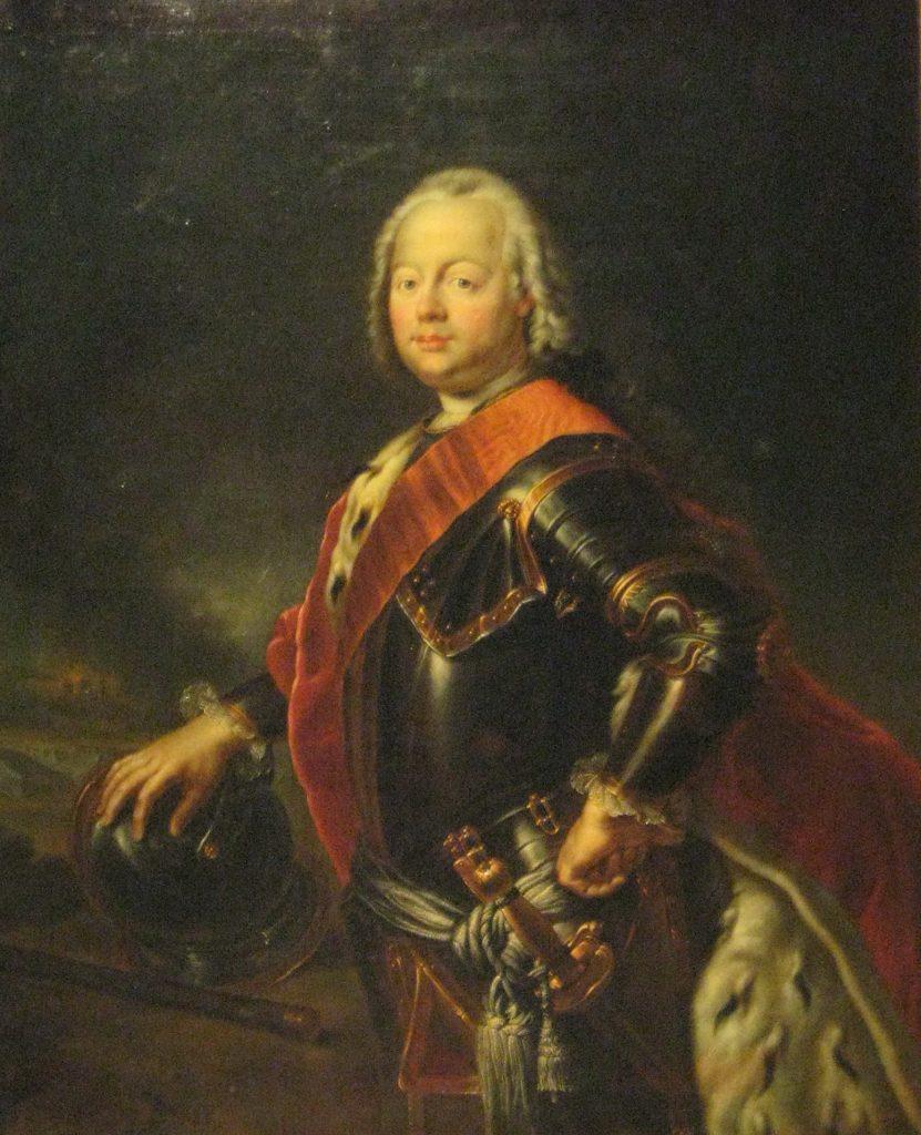 Christian August Fürst von Anhalt Zerbst (domena publiczna).