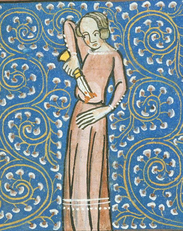 W średniowieczu ciała samobójców wrzucano do odłów z padliną (domena publiczna).