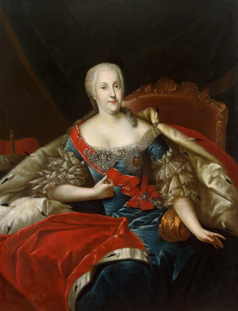 Joanna von Holstein-Gottorp (Antoine Pesne/domena publiczna).