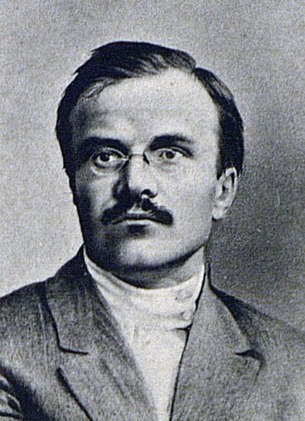Mołotow na zdjęciu z 1917 roku (domena publiczna).