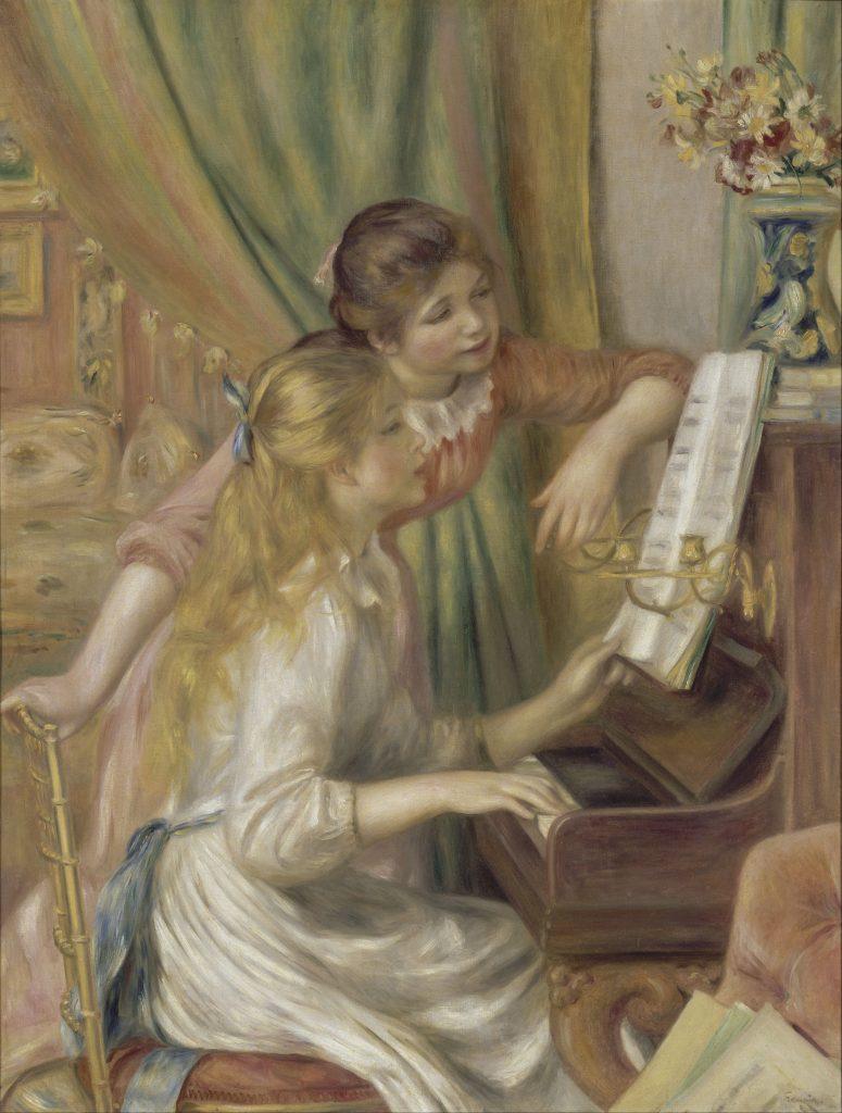 XIX-wieczne nastolatki z dobrych domów mogły liczyć na własny pokój (Auguste Renoir).
