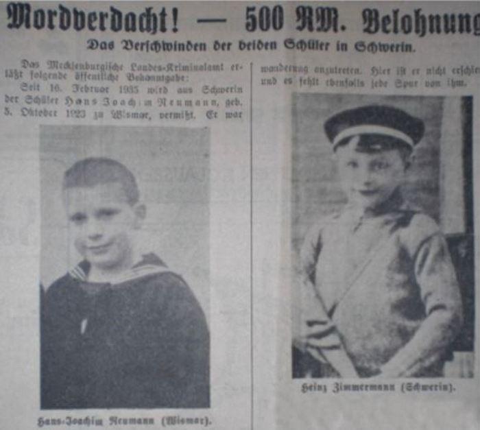 Dwie z ofiar Wujka Tik Tak (domena publiczna).