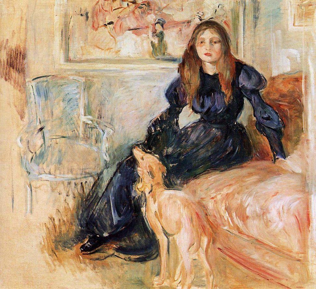 Pokój XIX-wiecznej nastolatki w niczym nie przypominał sypiali współczesnych nastolatek (Berthe Morisot/domena publiczna)