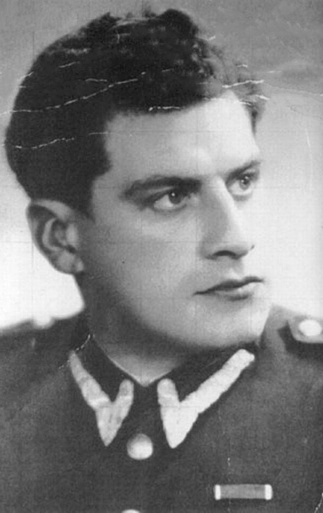 Salomon Morel na zdjęciu z 1948 roku (domena publiczna).