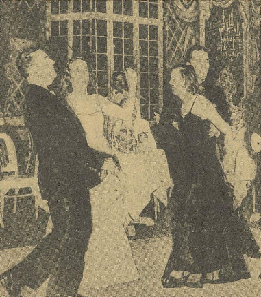 Wardellowie hucznie obchodzili Sylwestra 1938. Zdjęcie poglądowe (domena publiczna).