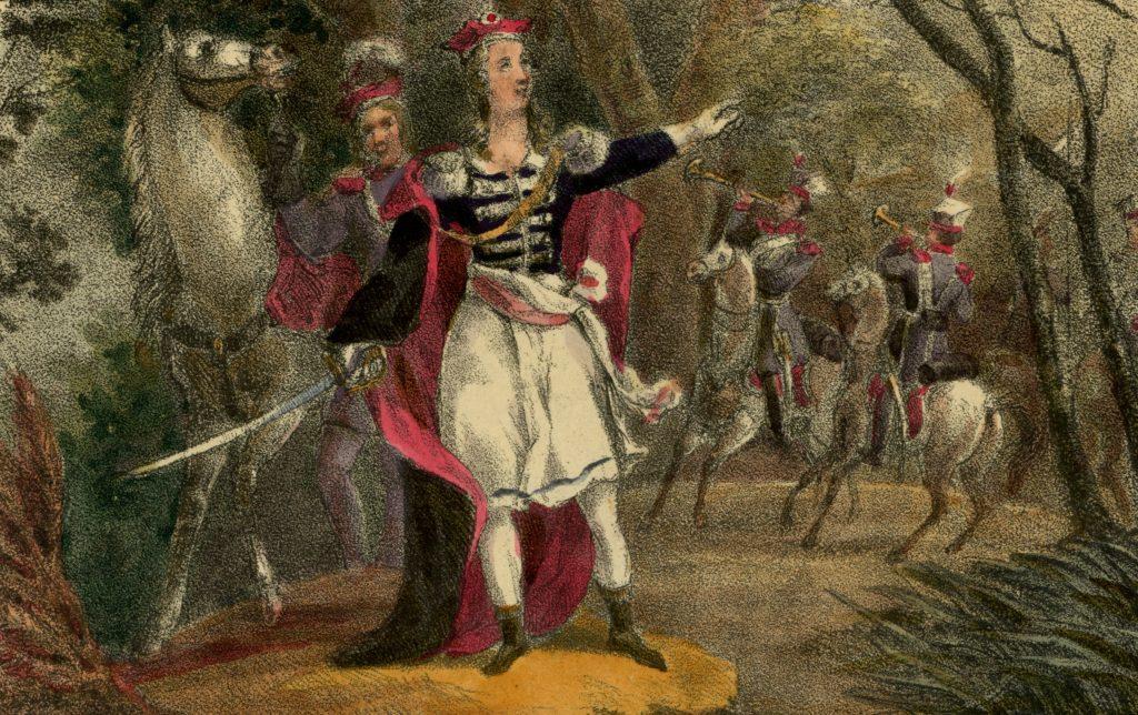 XIX-wieczny portret Emilii Plater (Julia Mielcarzewicz/domena publiczna).