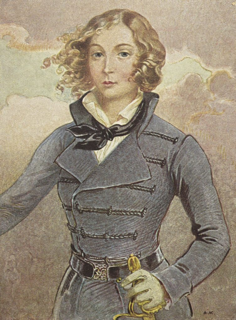 Emilia Plater według François le Villaina (domena publiczna).