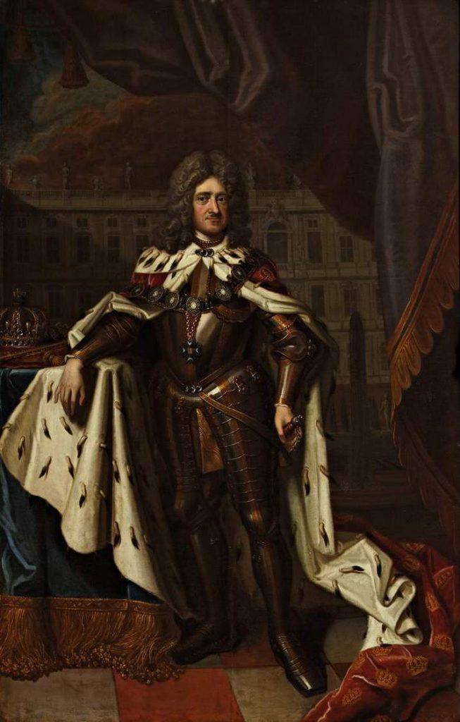Początek Bursztynowej Komnacie dała zachcianka pruskiego króla Fryderyka I (Friedrich Wilhelm Weidemann/domena publiczna).