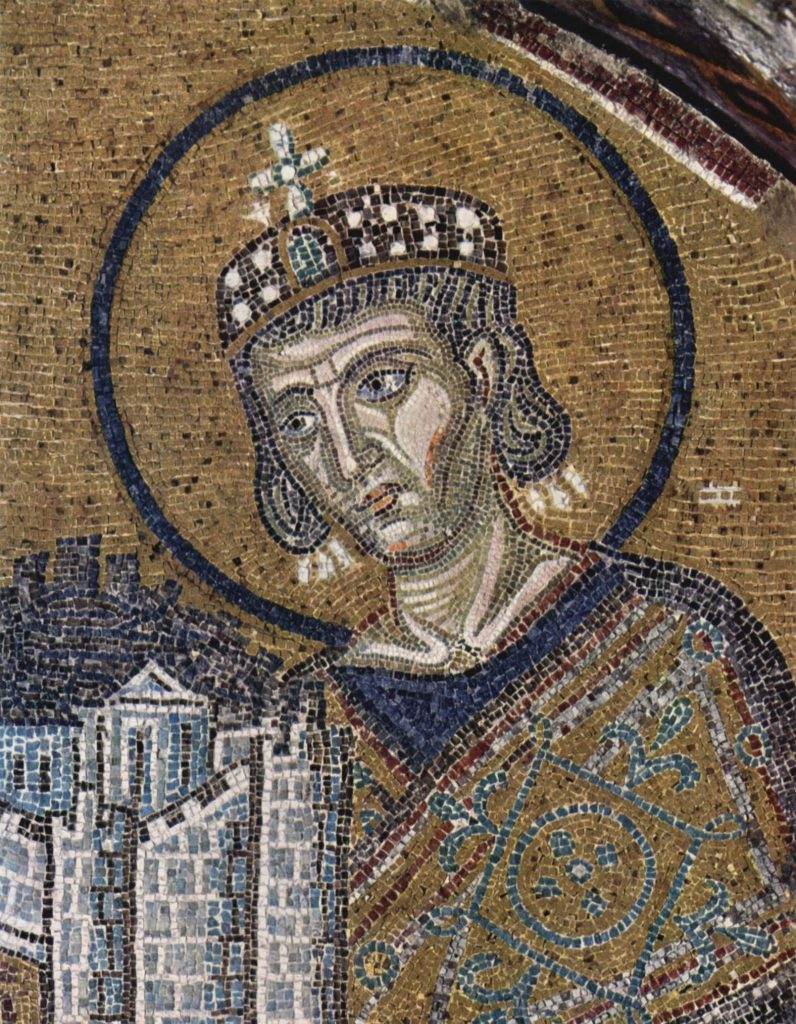 W 330 roku to właśnie do Byzantionu w 330 roku Konstantyn Wielki przeniósł stolicę cesarstwa (domena publiczna).