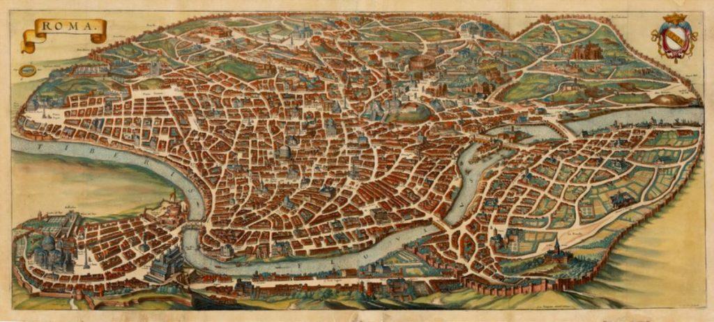 Po reformacji już nie wszystkie drogi prowadziły do Rzymu (domena publiczna).