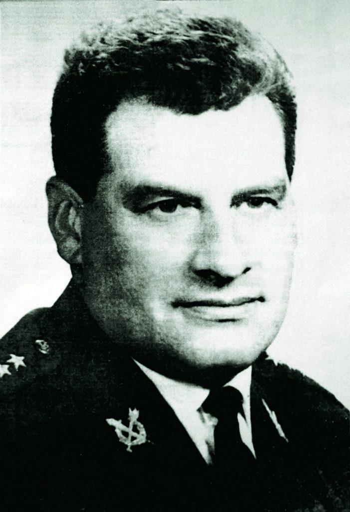 Salomon Morel na zdjęci z lat 50. XX wieku. Fotografia z książki Komendant. Życie Salomona Morela (materiały prasowe).