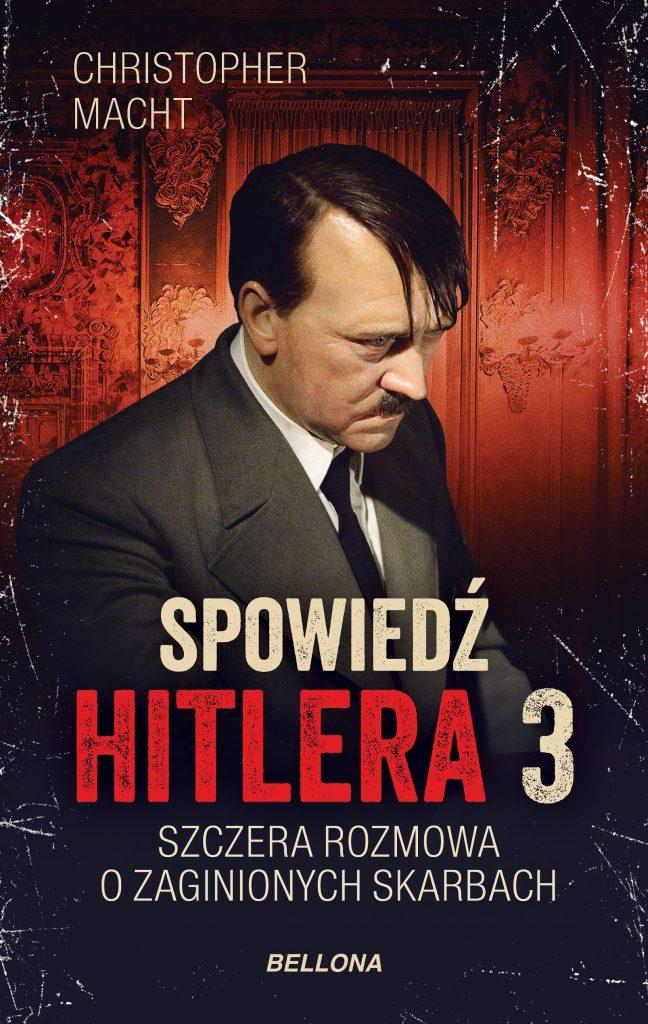 Inspiracją do napisania tego artykułu była książka Christophera Machta pod tytułem  Spowiedź Hitlera 3. Szczera rozmowa o zaginionych skarbach (Bellona 2020).