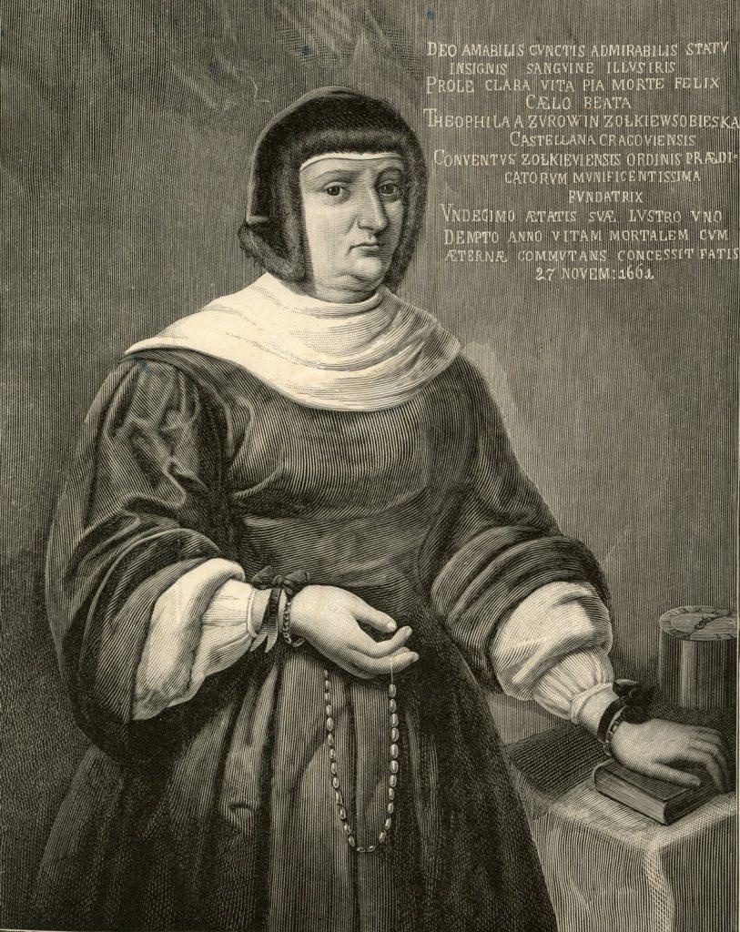 Matka Jana Sobieskiego, Zofia Teofila z Daniłowiczów (domena publiczna).