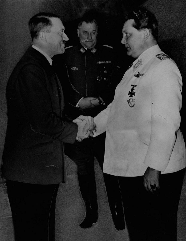 Głównym beneficjentem programu zbrojeń Hitlera było kierowane przez Göringa Luftwaffe (domena publiczna).