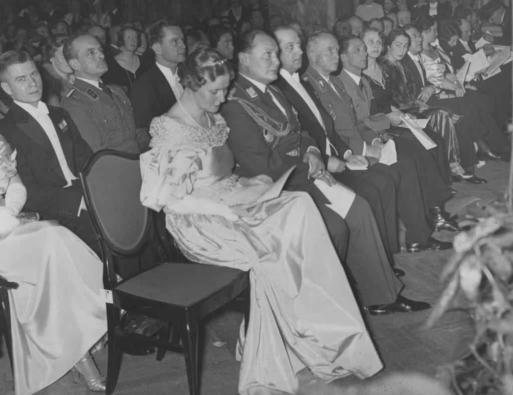 Emma i Hermanna Göring na zdjęciu z początku 1935 roku (domena publiczna).
