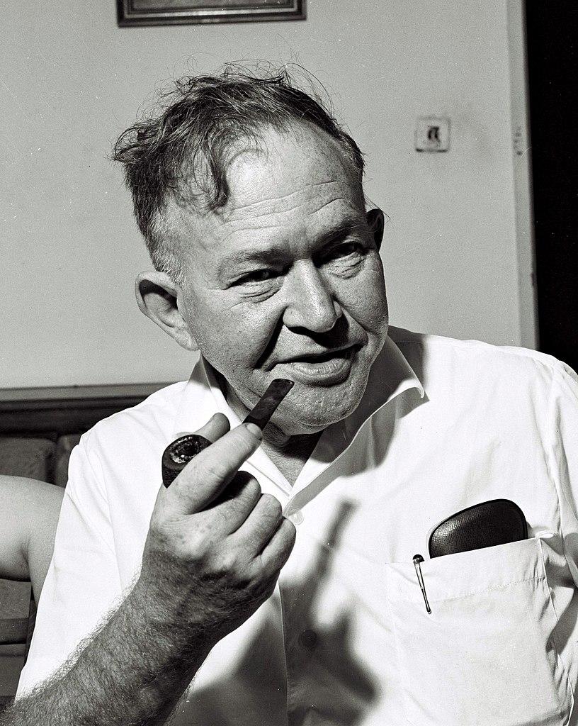 Joel Brand na zdjęciu z 1961 roku (domena publiczna).