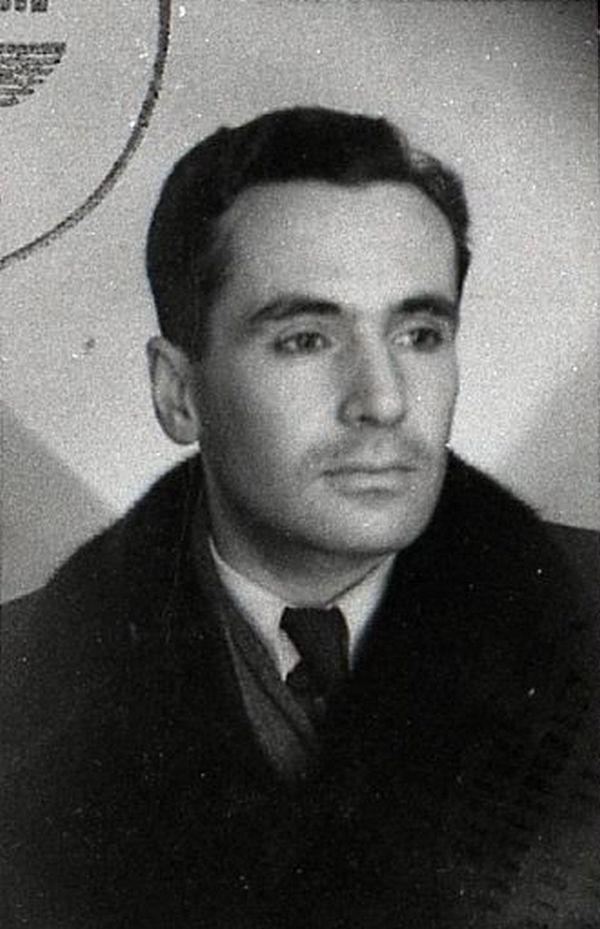 Kazimierz Leski na zdjęciu z okresu okupacji (domena publiczna).