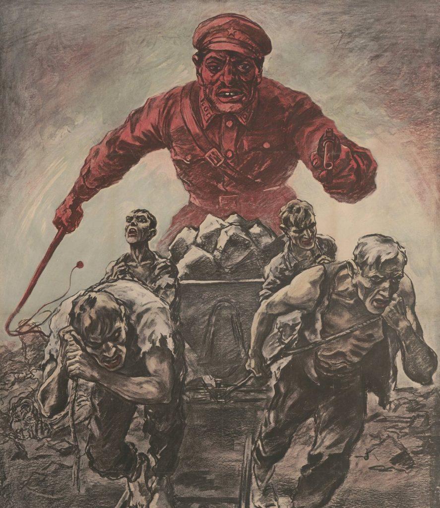 Komendtan łagru Peczora był prawdziwym zwyrodnialcem. Ilustracja poglądowa (domena publiczna).
