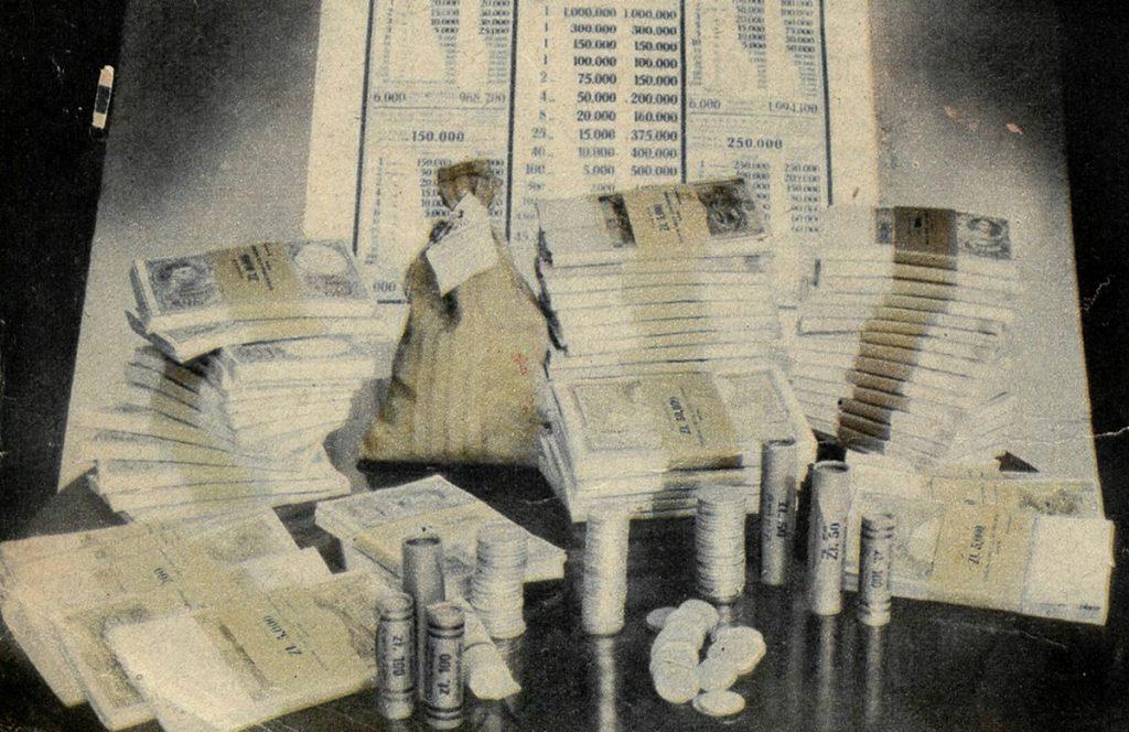 Tylko roku budżetowym 1935/36 zapewnił budżetowi państwa aż 340 milionów złotych (domena publiczna).