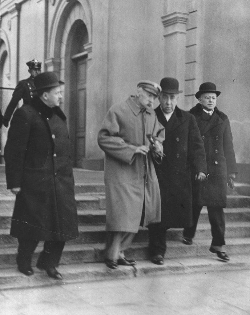 Ostatnie znane zdjęcie Józefa Piłsudskiego z 20 marca 1935 roku (domena publiczna).