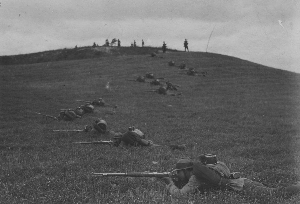 Według informacji przekazywanych przez dezerterów polska armia miała borykać się z poważnymi problemami aprowizacyjnymi (domena publiczna).