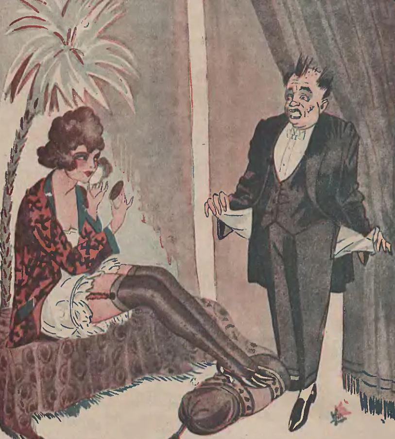 Prostytutki były bardzo kłótliwe (domena publiczna).