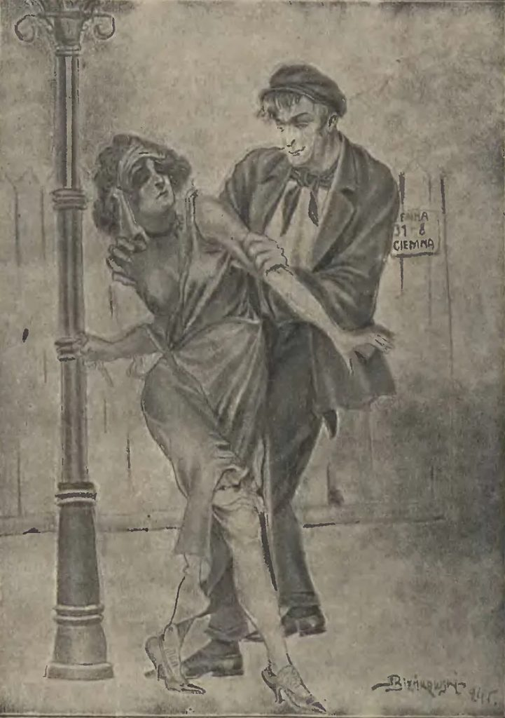 Prostytutki również chętnie sięgały po alkohol (domena publiczna).
