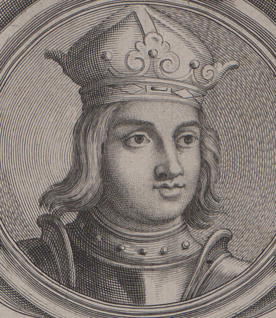 Władysław III Warneńczyk na miedziorycie z przełomu XVII i XVIII wieku.
