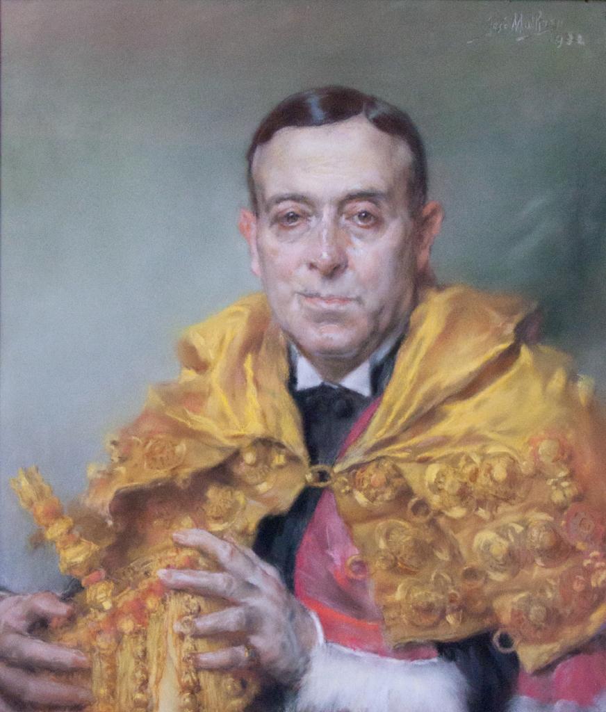 Antonio Egas Moniz na obrazie José Malhoa z 1932 roku (domena publiczna).