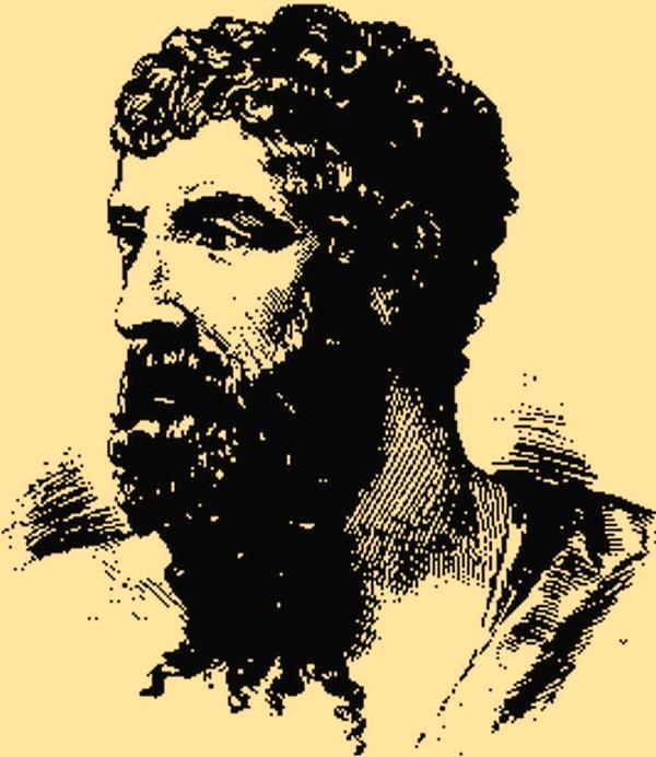Arystofanes w swoich komediach nie uciekał od tematów związanych z załatwianiem potrzeb fizjologicznych (domena publiczna).