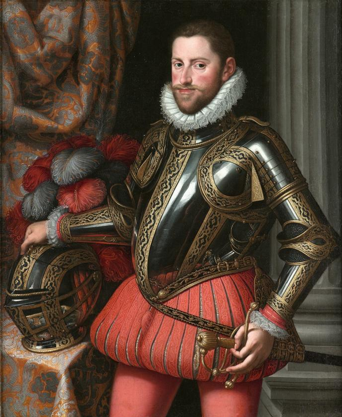 Ernest Habsburg na portrecie Martina Roty (domena publiczna).