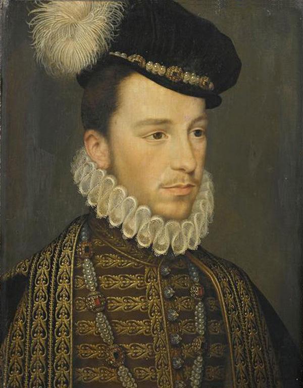 Portret Henryka Walezego przypisywany Jeanowi de Court (domena publiczna).
