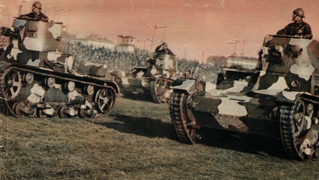 Zdaniem Rauschera przewrót majowy odbił się niekorzystnie na kondycji polskiej armii (domena publiczna).