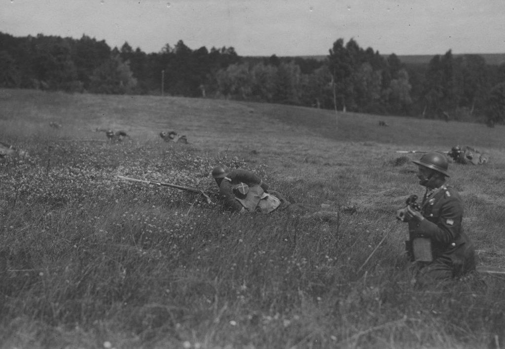 Po przejęciu władzy przez Piłsudskiego podstępowała dalsza unifikacja uzbrojenia piechoty (domena publiczna).