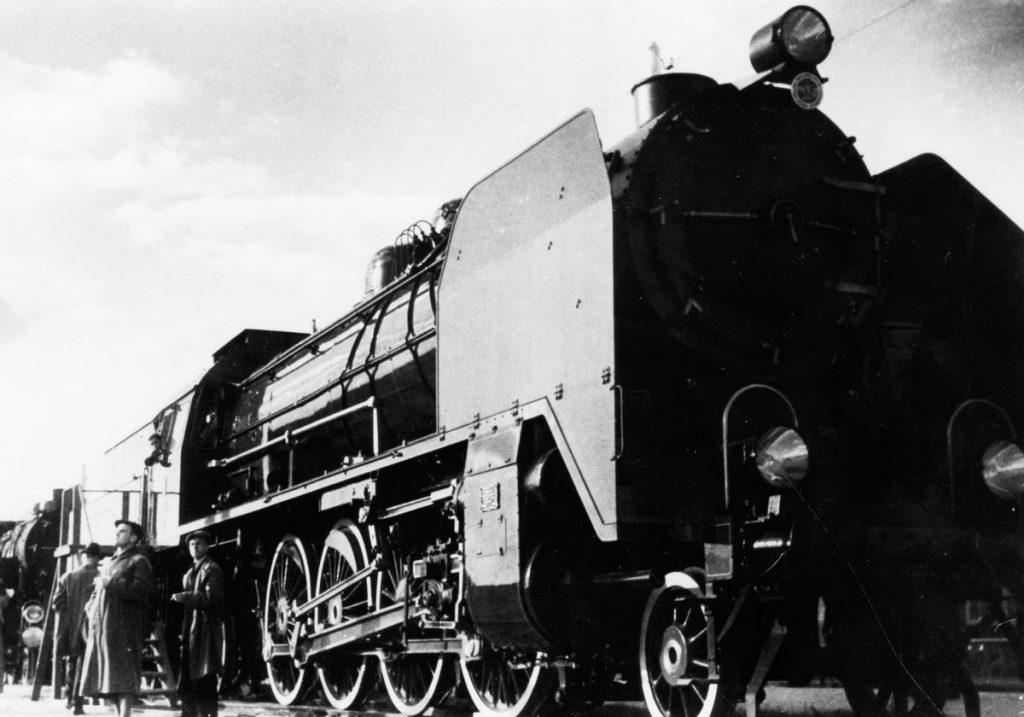 Produkowana w Chorzowie lokomotywa Pt31 (domena publiczna).
