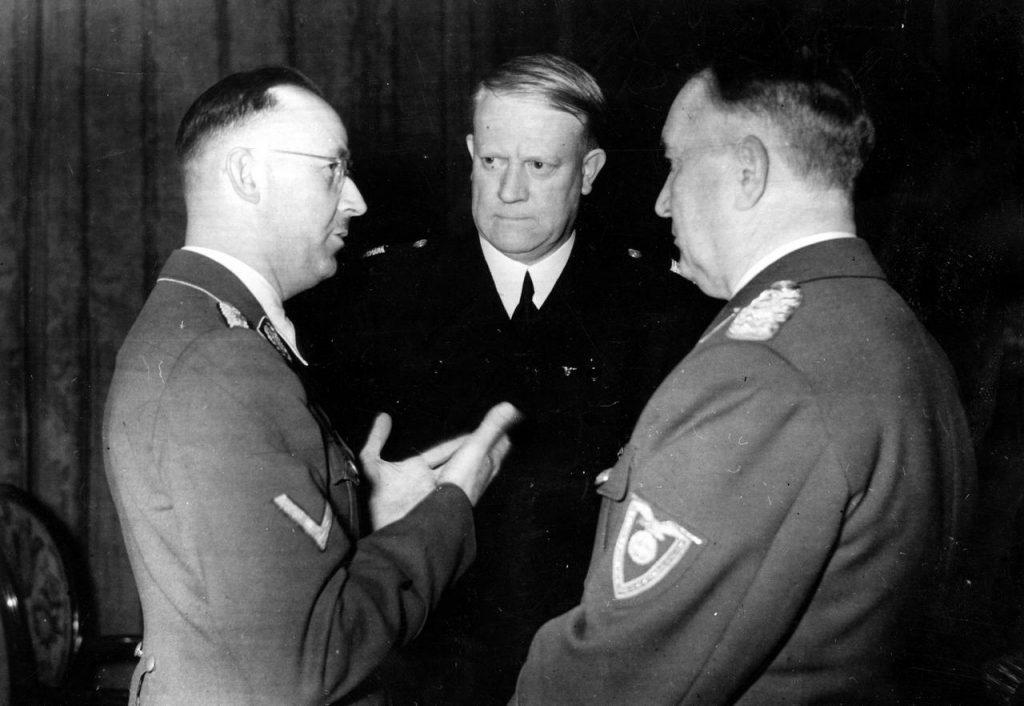 Himmler liczył, że Norwegowie będą się tłumnie zgłaszać do Waffen-SS. Tak się jednak nie stało (domena publiczna).