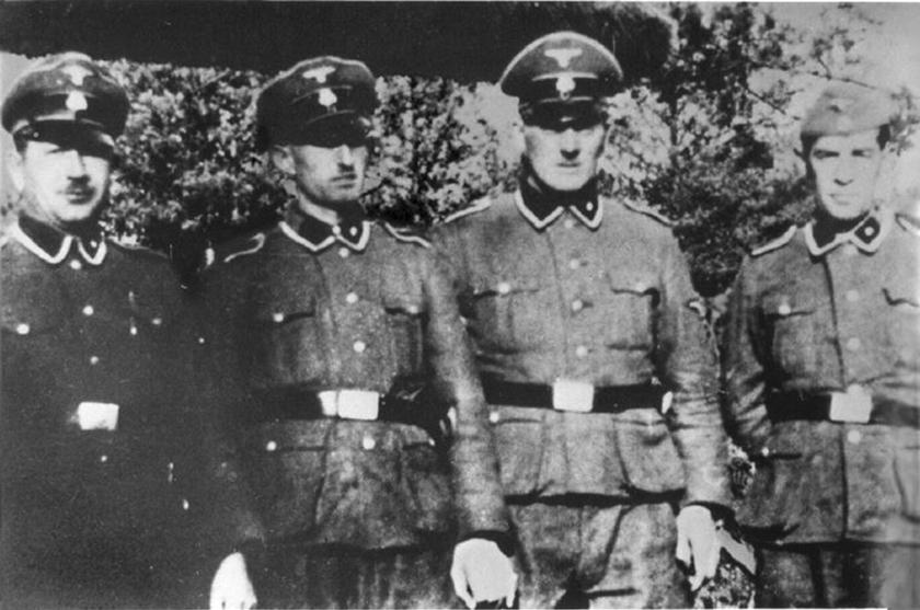 Strażnicy z Treblinki (domena publiczna).