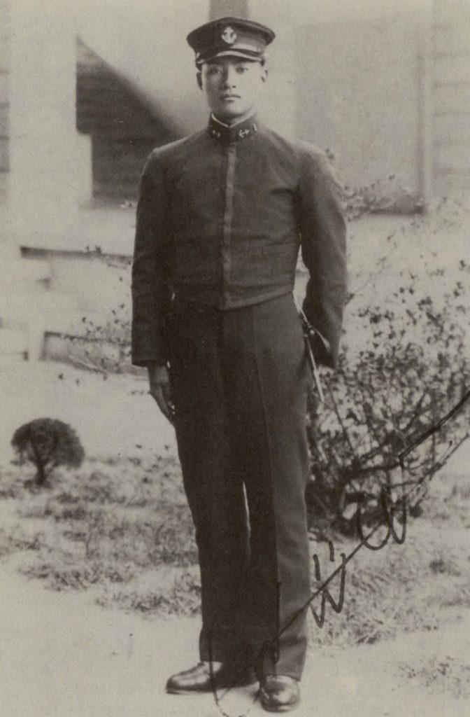 Yukio Seki. Dowódca pierwszego oddziału kamikaze na zdjęciu z 1939 roku (domena publiczna).