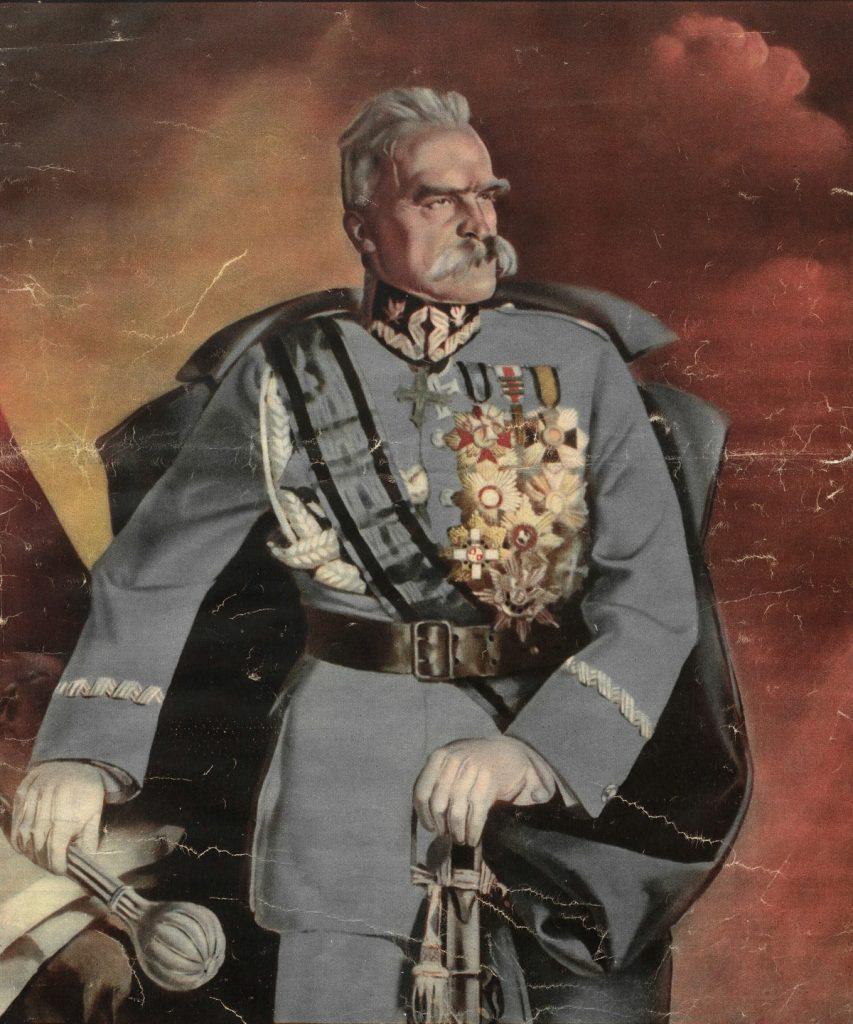 Zazdrość miała być według niemieckich dyplomatów główną wadą Piłsudskiego (domena publiczna).