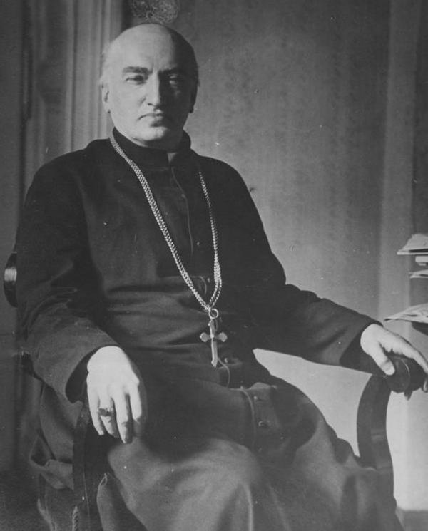Ksiądz Bachota twierdził, że opierał się na jednym z kazań arcybiskupa Józefa Teodorowicza (domena publiczna).