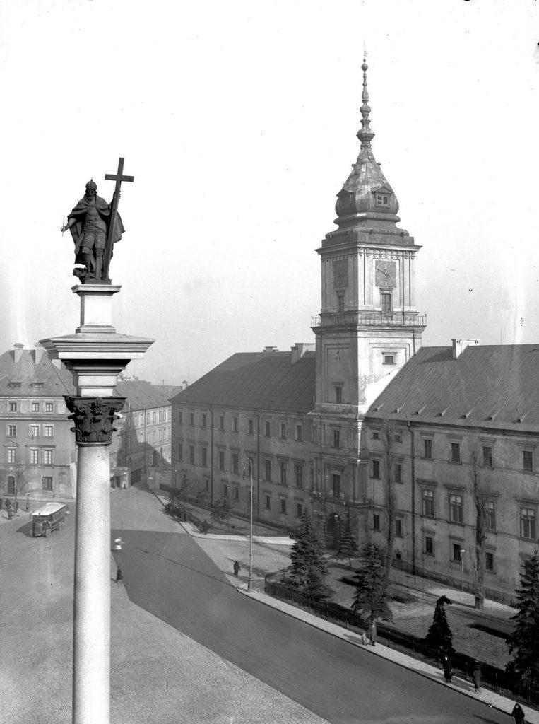 Ślub Marii i Ignacego odbył się na Zamku Królewskim w Warszawie (domena publiczna).