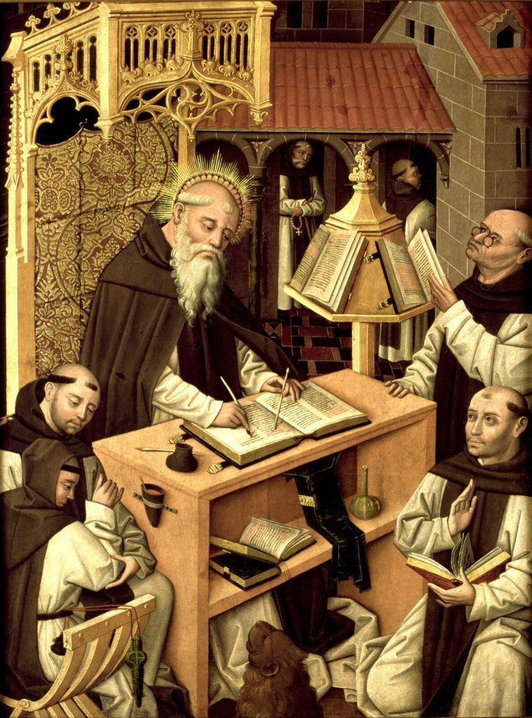 Z badań profesora Logana wynika, że przez ćwierć tysiąclecia ledwie 1% ogółu angielskich mnichów i mniszek zdecydowało się na ucieczkę z klasztoru (domena publiczna).