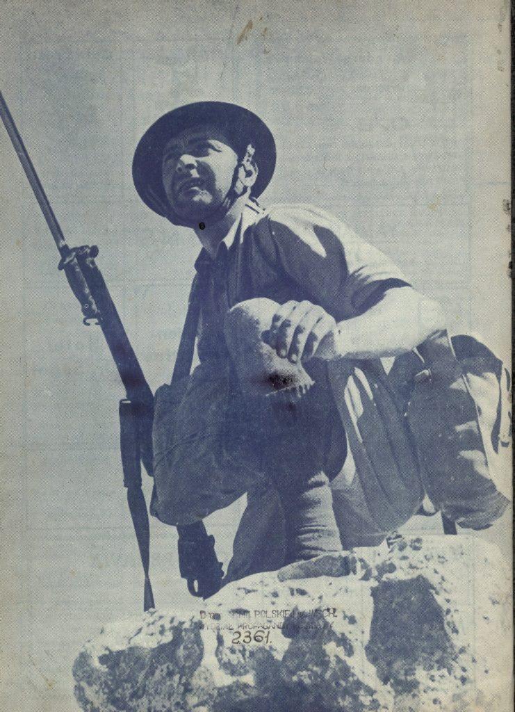 Żołnierze Samodzielnej Brygady Strzelców Karpackich nie stronili od lektury (domena publiczna).