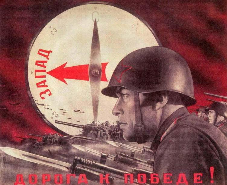 Czerwonoarmiści, którzy dotarli do obozów byli zszokowani tym, co tam zastali (domena publiczna).