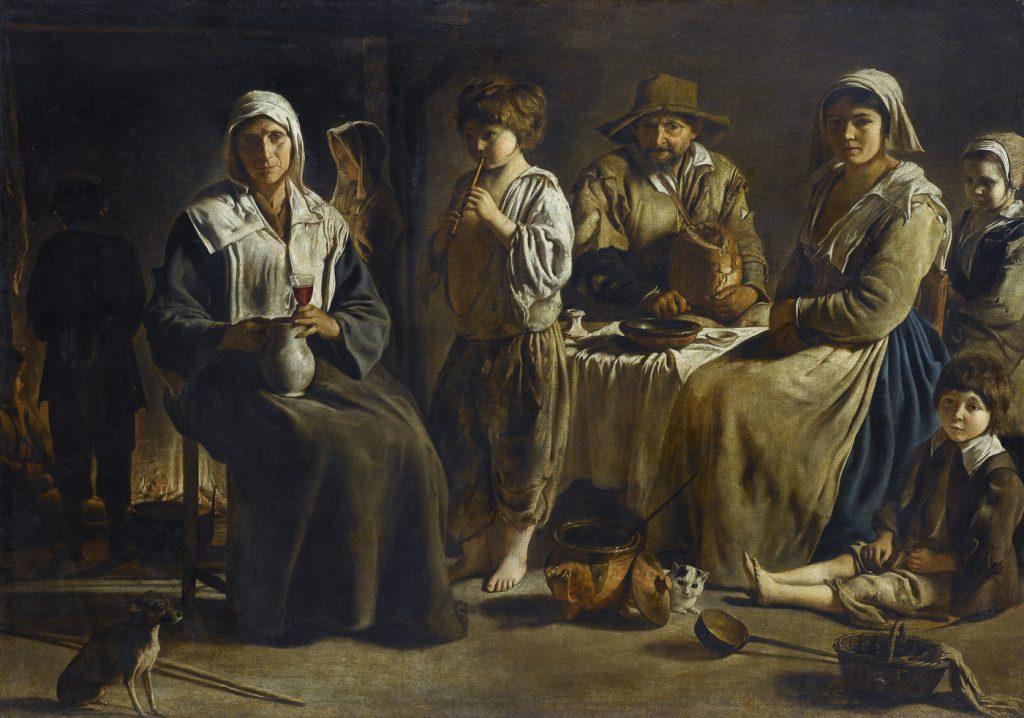Francuscy chłopi byli zdecydowanie bardziej pruderyjni od wyspiarzy (Louis Le Nain/domena publiczna).
