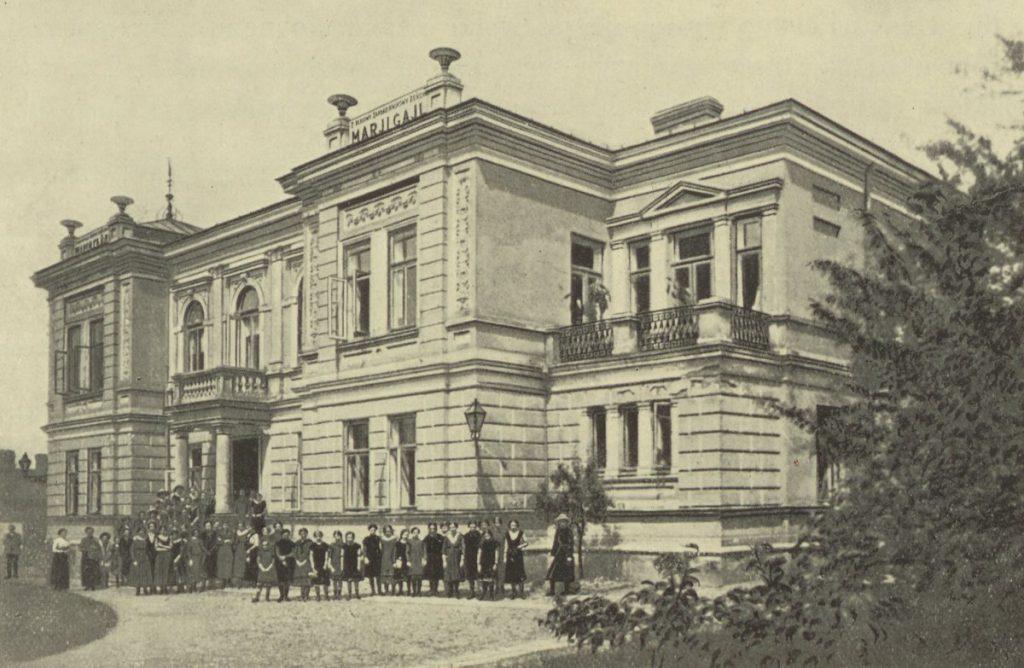 Budynek Zakładów Naukowych Żeńskich Marii Gajl. To tam do szkoły chodziła Teresa Grodzińska (domena publiczna).