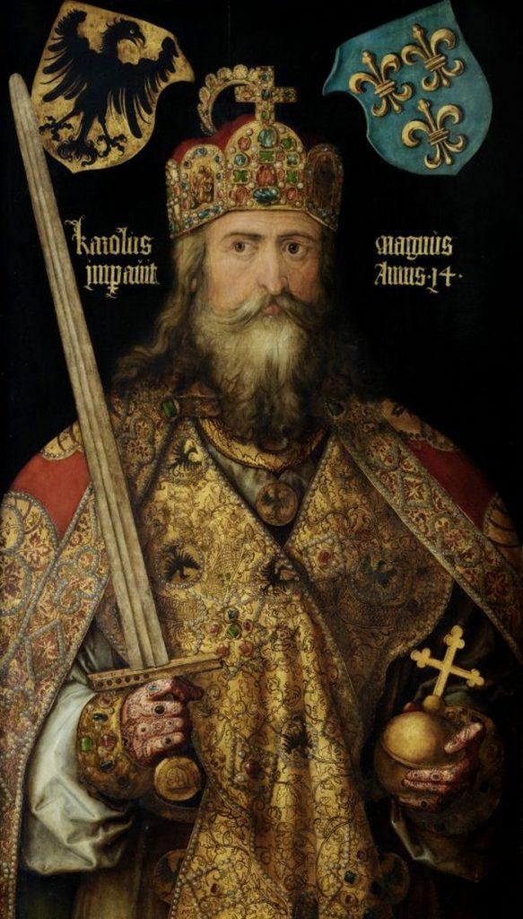 Niektórzy XIX-wieczni historycy twierdzili, że Kadłubek pomylił Cezara z... Karolem Wielki (Albrecht Dürer/domena publiczna).